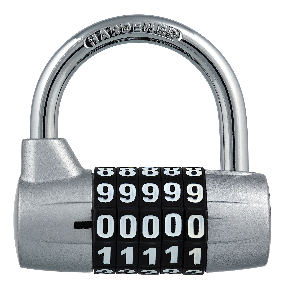 Wide Shackle Combination Padlock