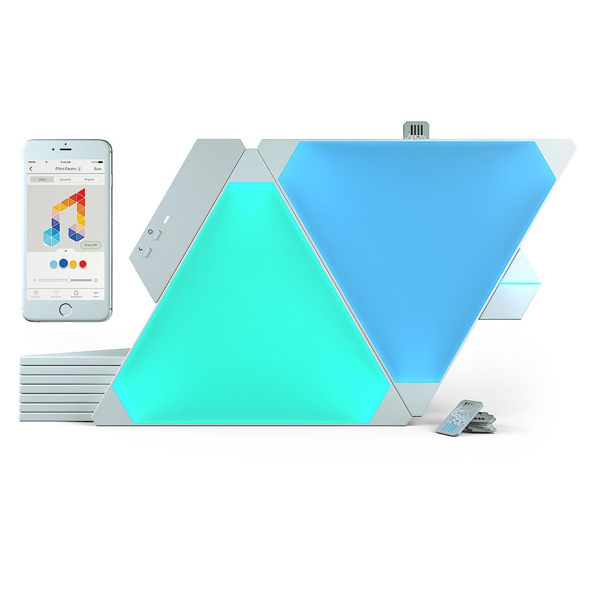 Nanoleaf Aurora Rhythm Smarter Kit , 9-pk