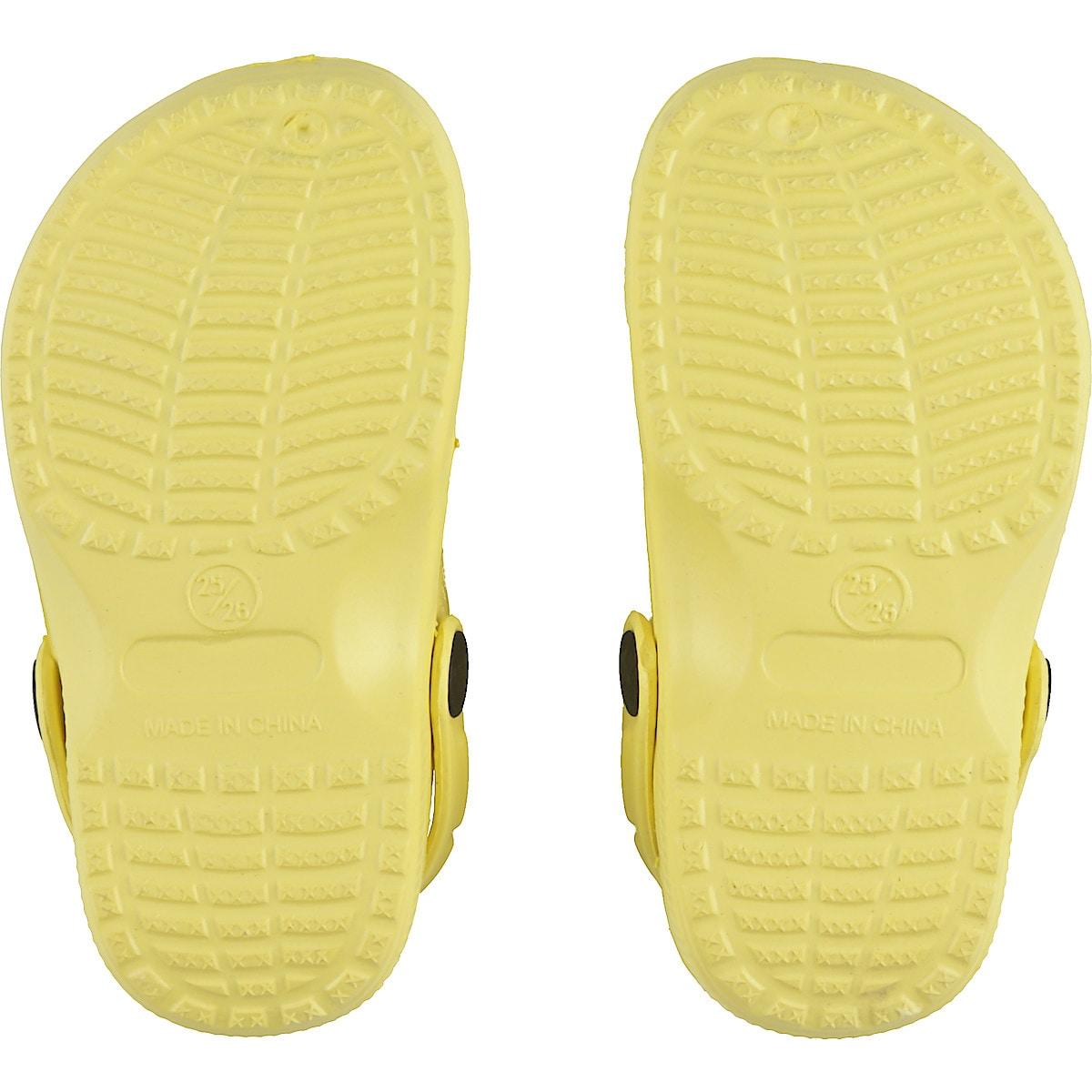 Plastsandaler barn, gule