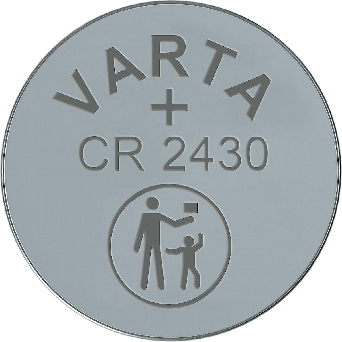 Litiumbatteri CR2430 VARTA