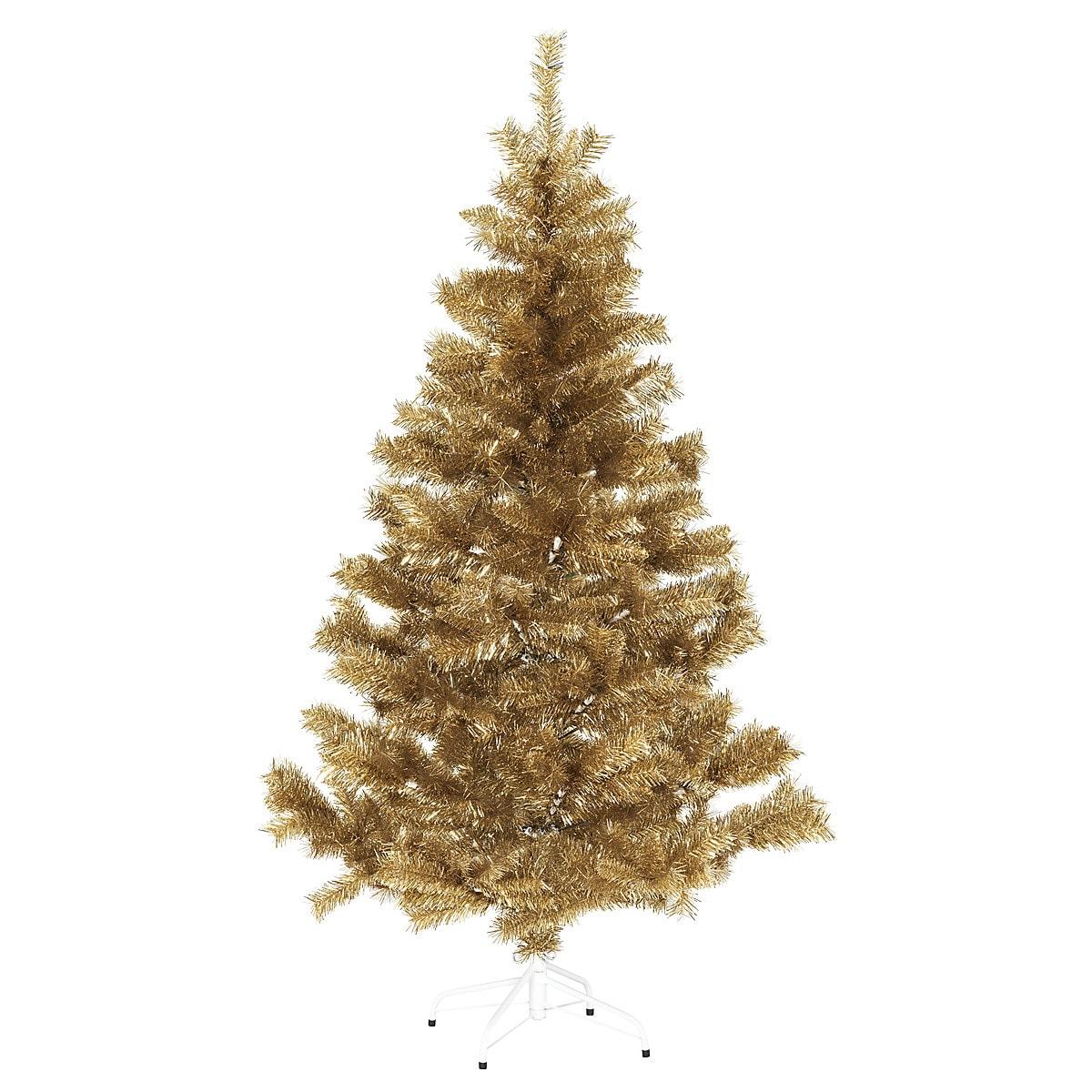 Juletre, Champagne/gull, 180 cm
