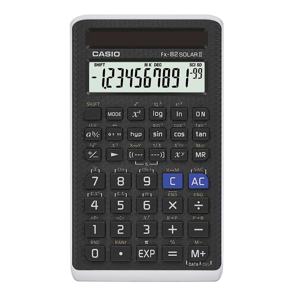 CASIO FX-82 SOLAR II miniräknare