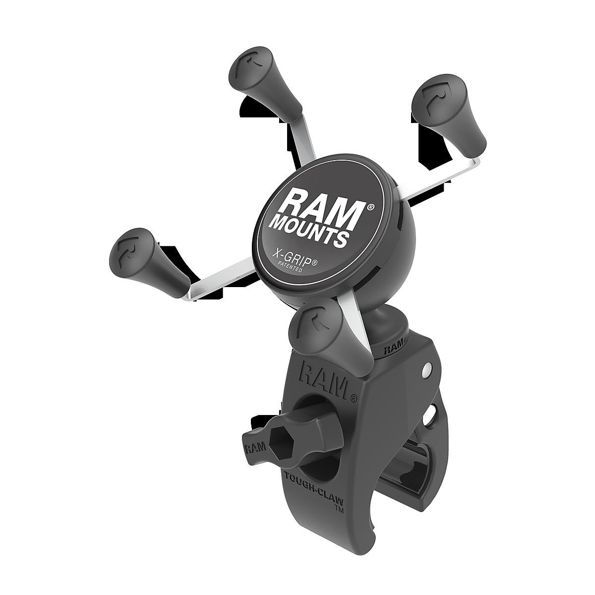 Putkikiinnike ohjaustankoon Ram Mounts X-grip/Tough-Claw