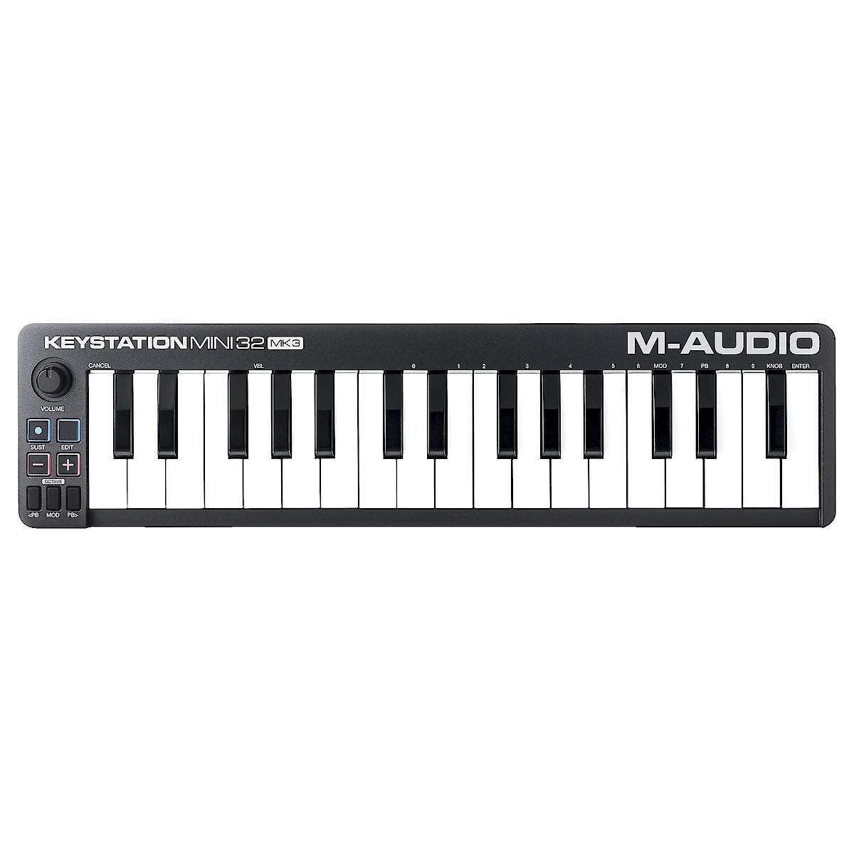 USB-kontroller Klaviatur M-Audio Keystation Mini 32 MK3