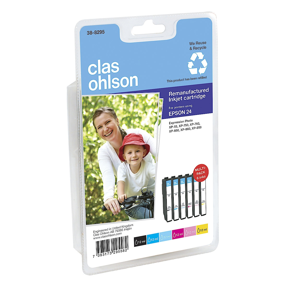 Clas Ohlson Epson 24 Ink Cartridge