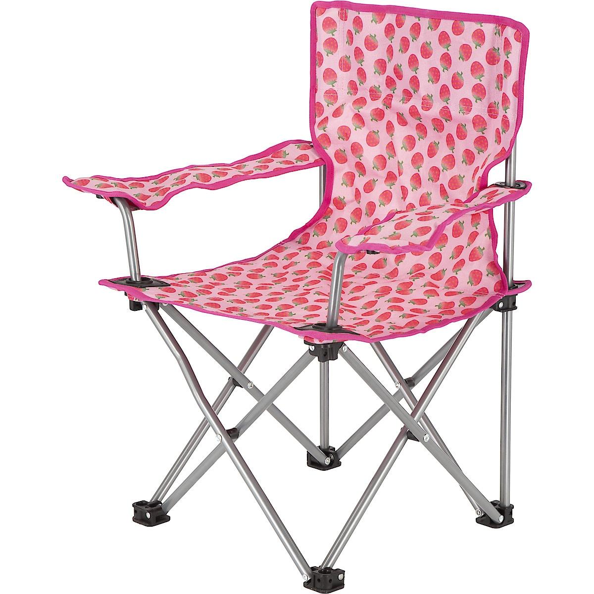 Sammenleggbar stol for barn, jordbær