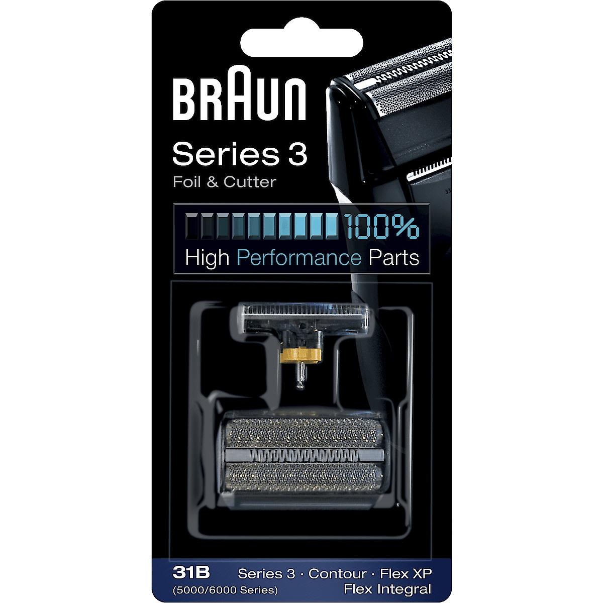 Kombipack Braun 31B Schwarz