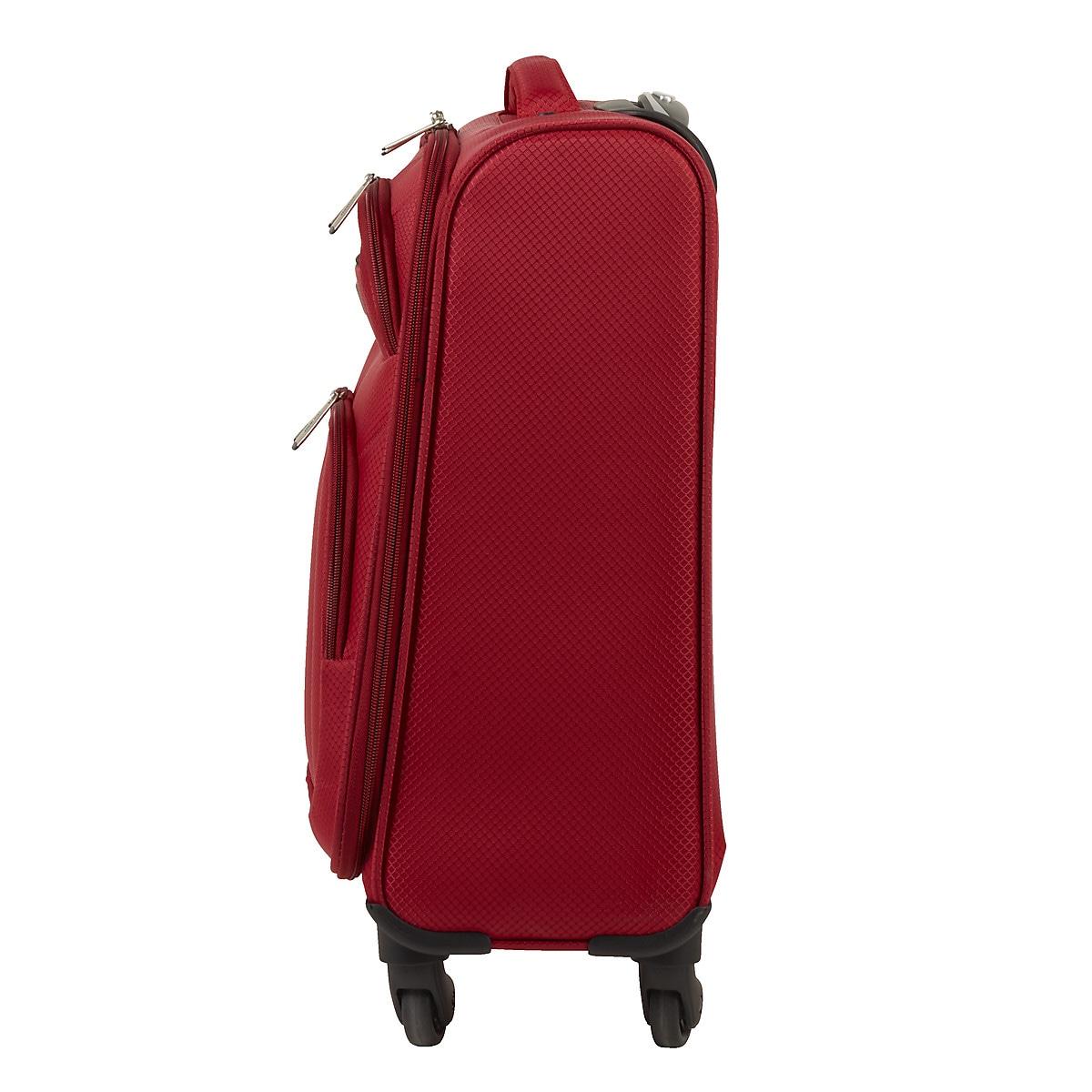 Matkalaukku Asaklitt Lightweight, punainen