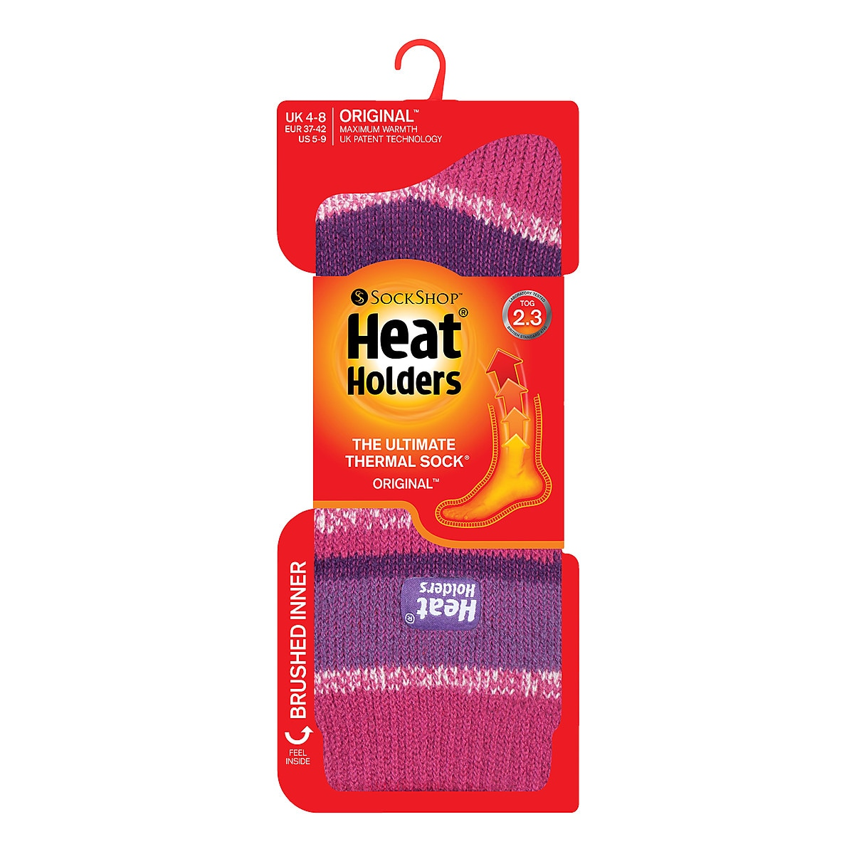 Heat Holders Thermal Socks, size 37-42