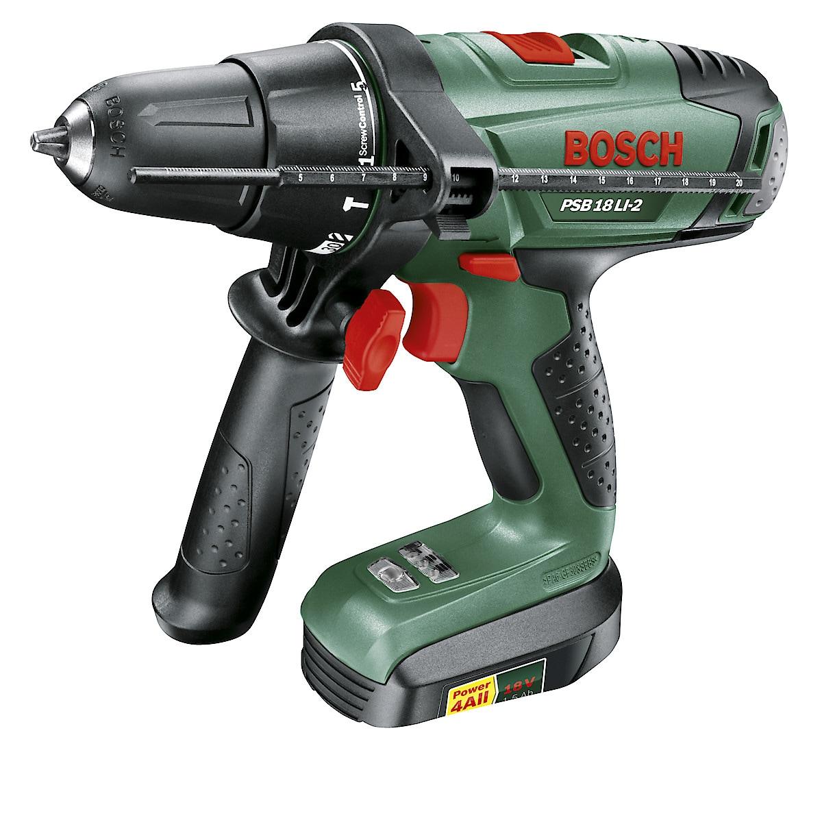 Bosch PSB 18 LI-2 Hammer Drill/Driver