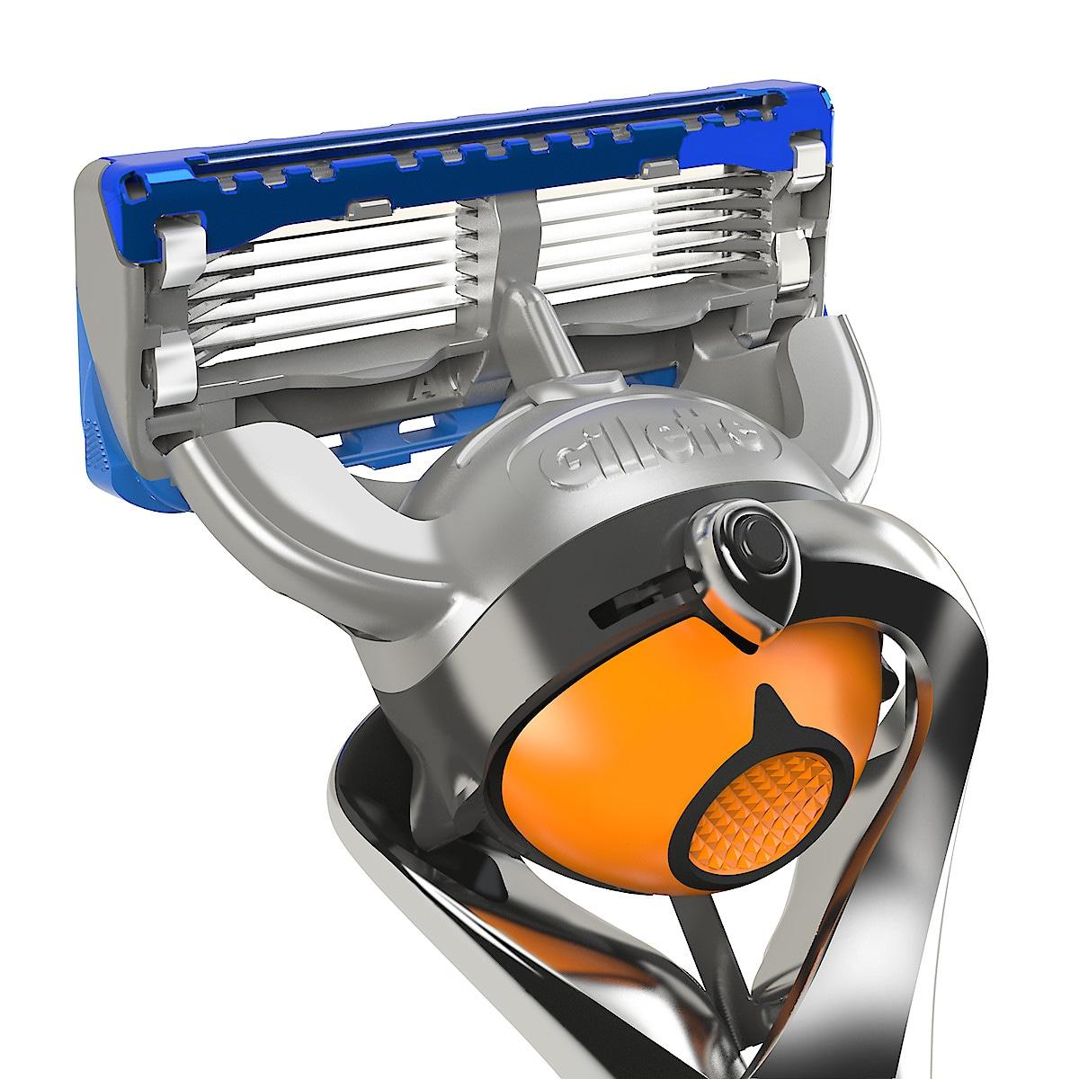 Gillette Fusion ProGlide Power barberblader, 4-pack