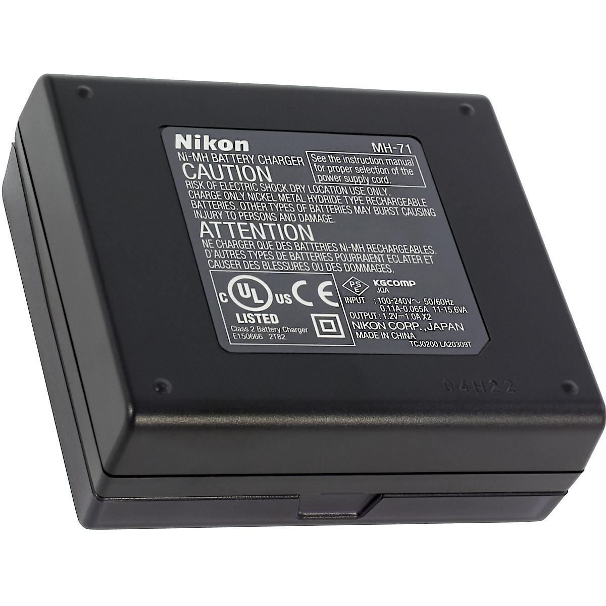 Batterilader Nikon MH-71