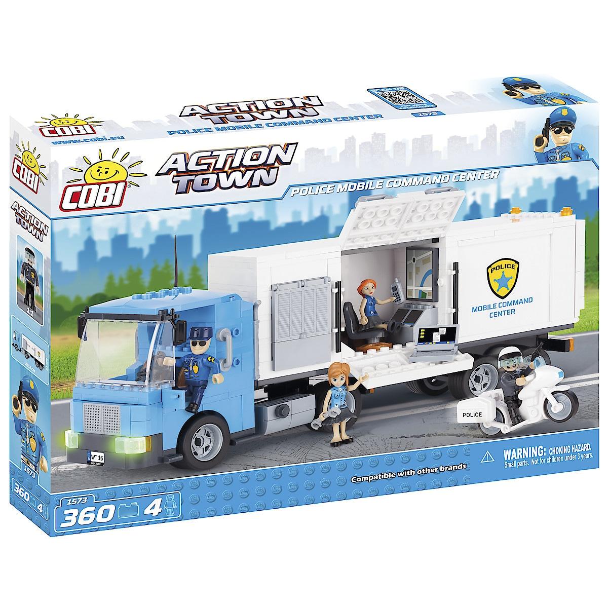 Rakennussarja poliisikuorma-auto, Cobi