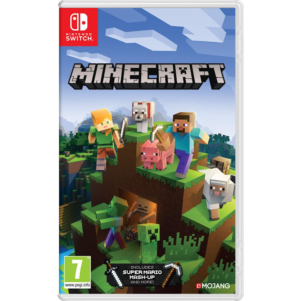 Minecraft spel till Nintendo Switch