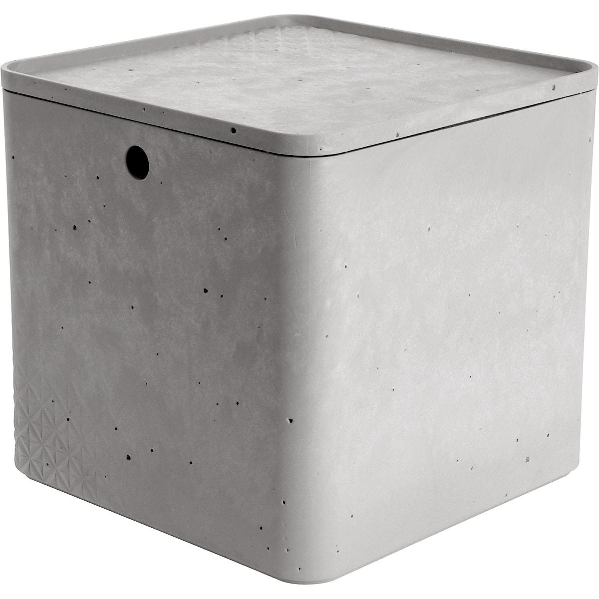 Oppbevaringsboks med lokk