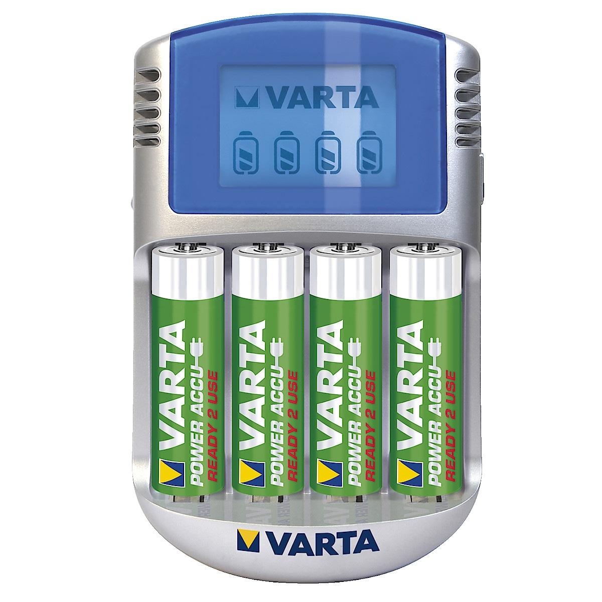 Batterilader, VARTA LCD