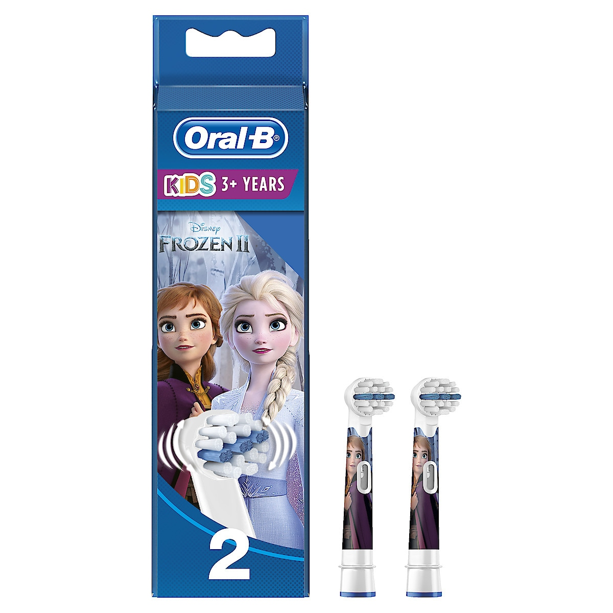 Harjaspää Oral-B Stages Power Kids 2 kpl