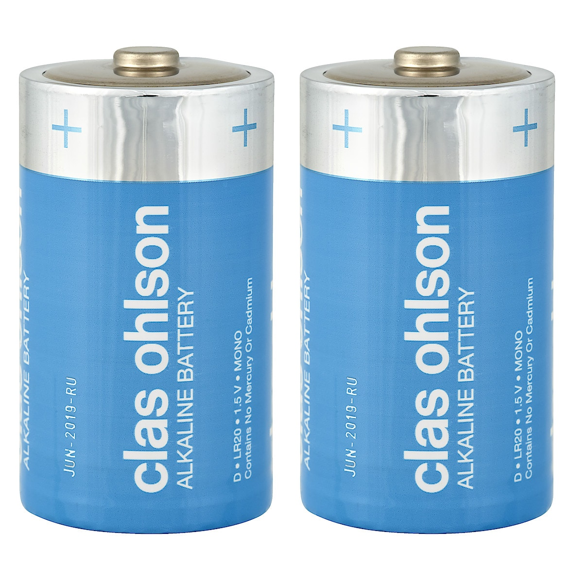 Clas Ohlson D/LR20 alkalisk batteri