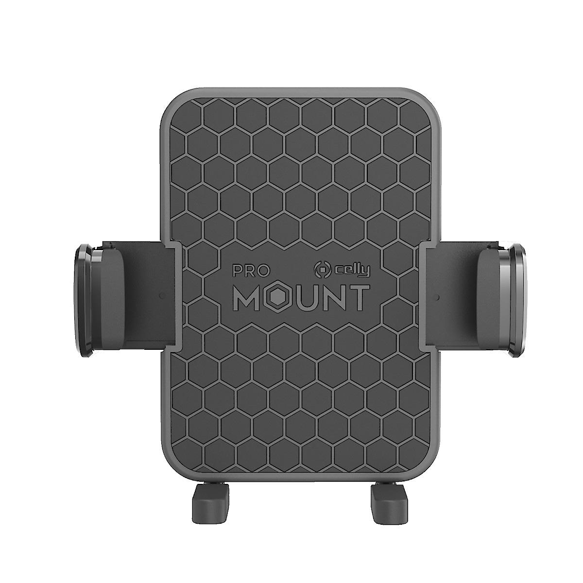 Celly Mount Flex Plus, mobilholder med klemfeste og sugekopp