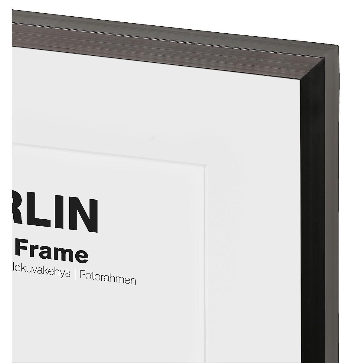 Fotoram Berlin, svart