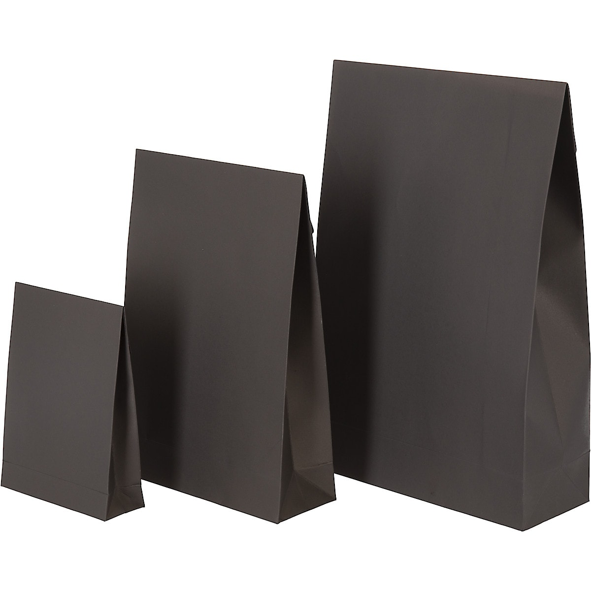 Set of 3 Gift Bags, Black