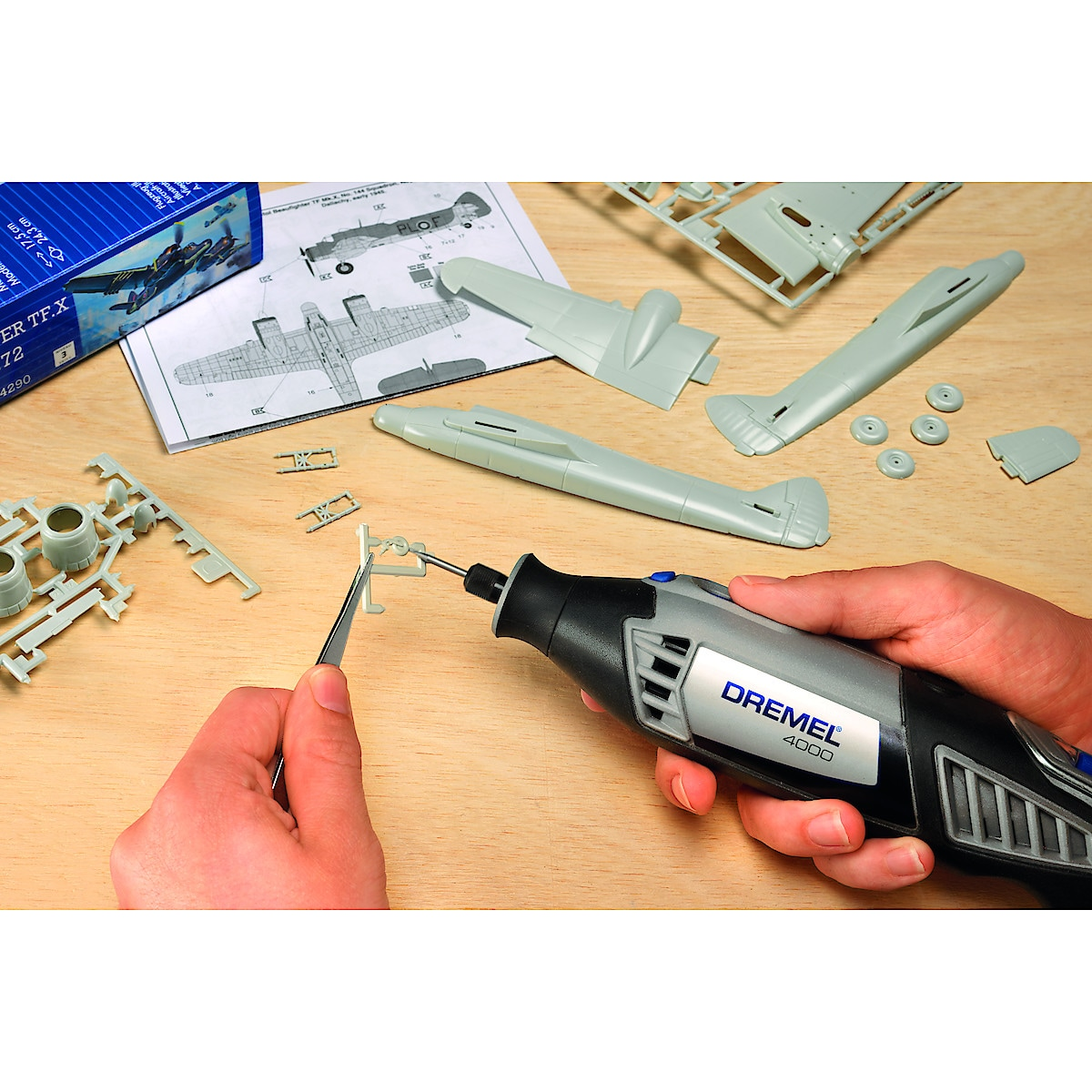Dremel 4000 1/45 multimaskin