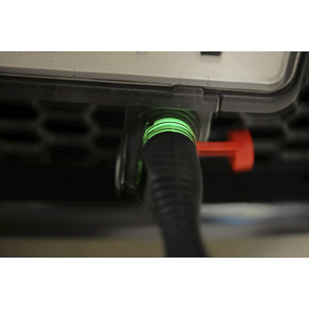 Calix motorvarmerkabel med LED-belysning