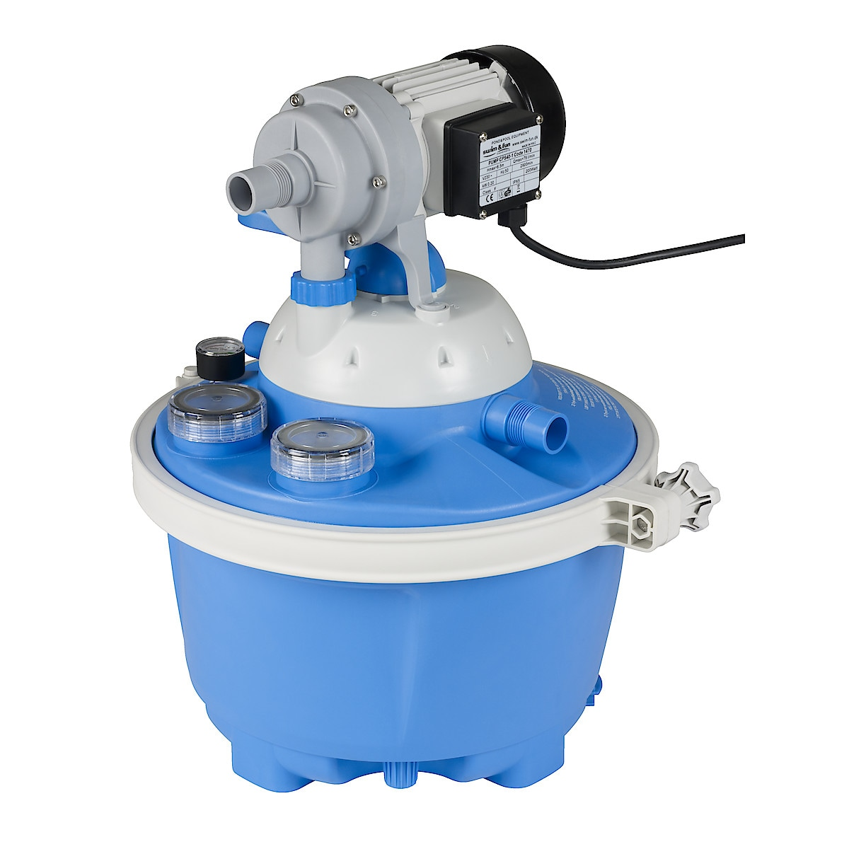 Basic 3 sandfilterpumpe
