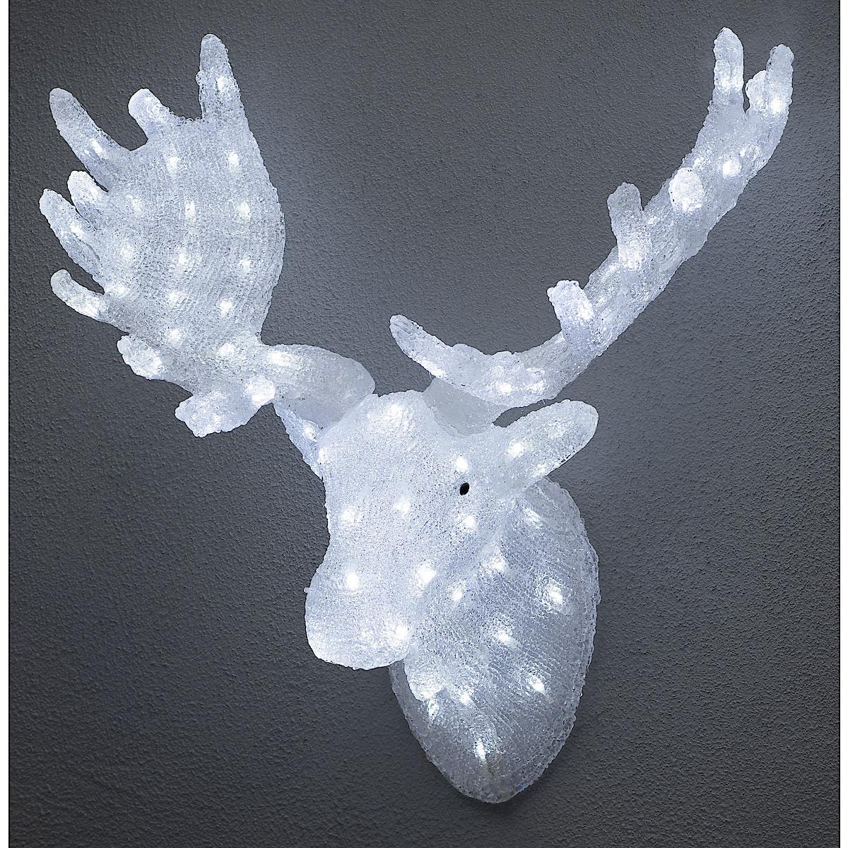 Dekorasjonsfigur med LED-lys