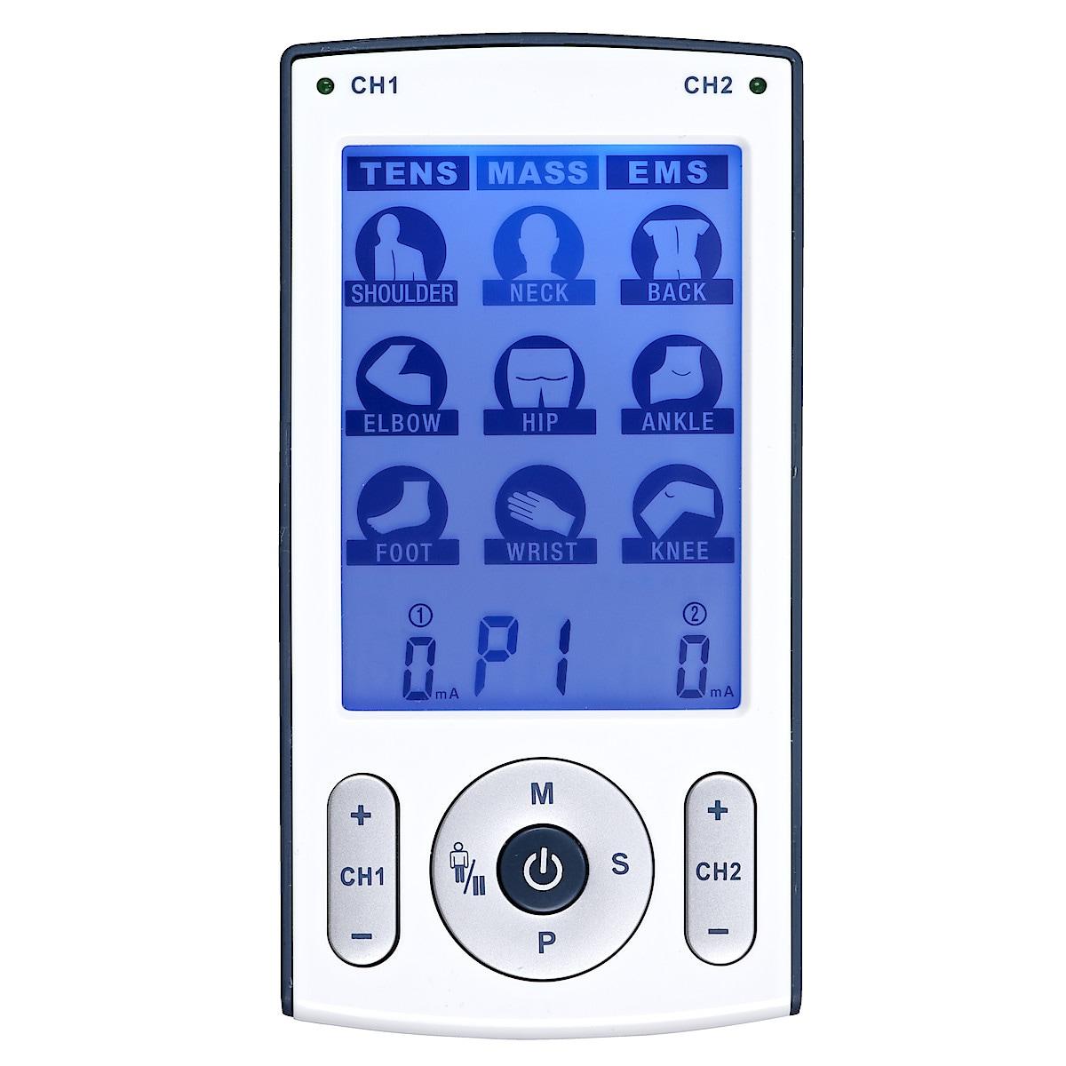 TENS- EMS- och massageapparat 3 i 1