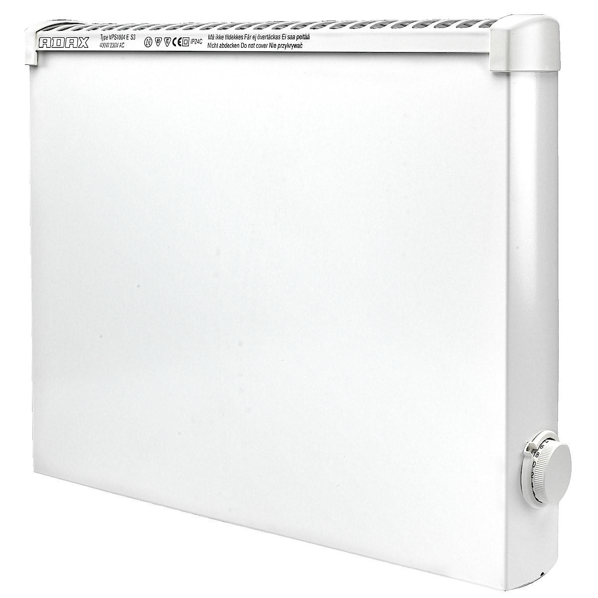 Adax VPS1004, 400 W panelovn for våtrom 230 V