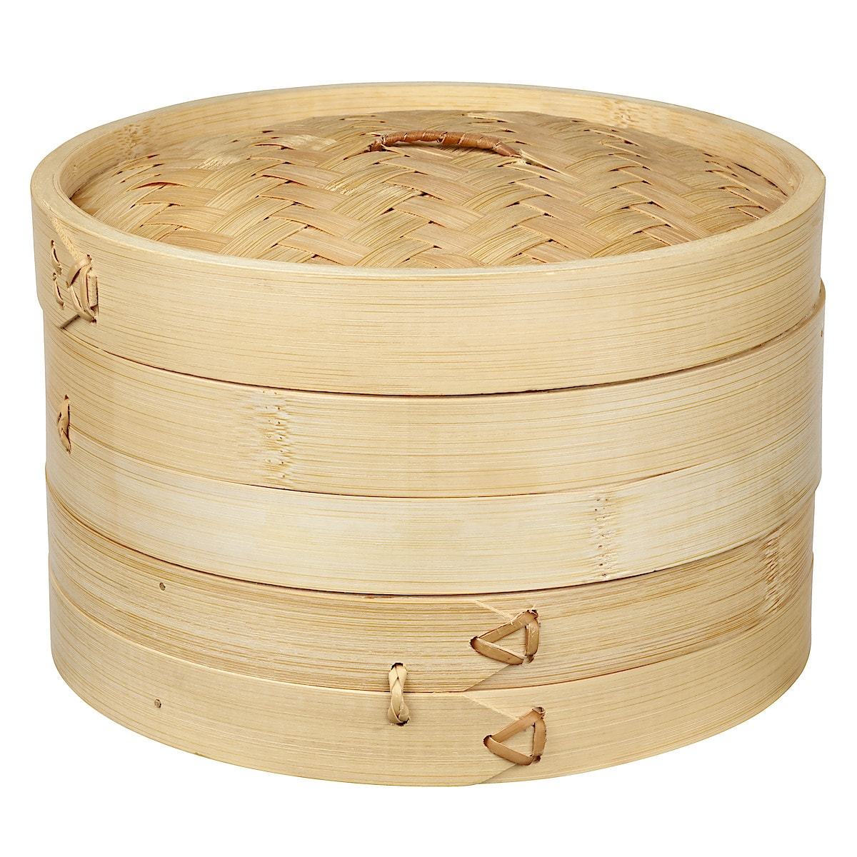 Ångkokare bambu, 20 cm