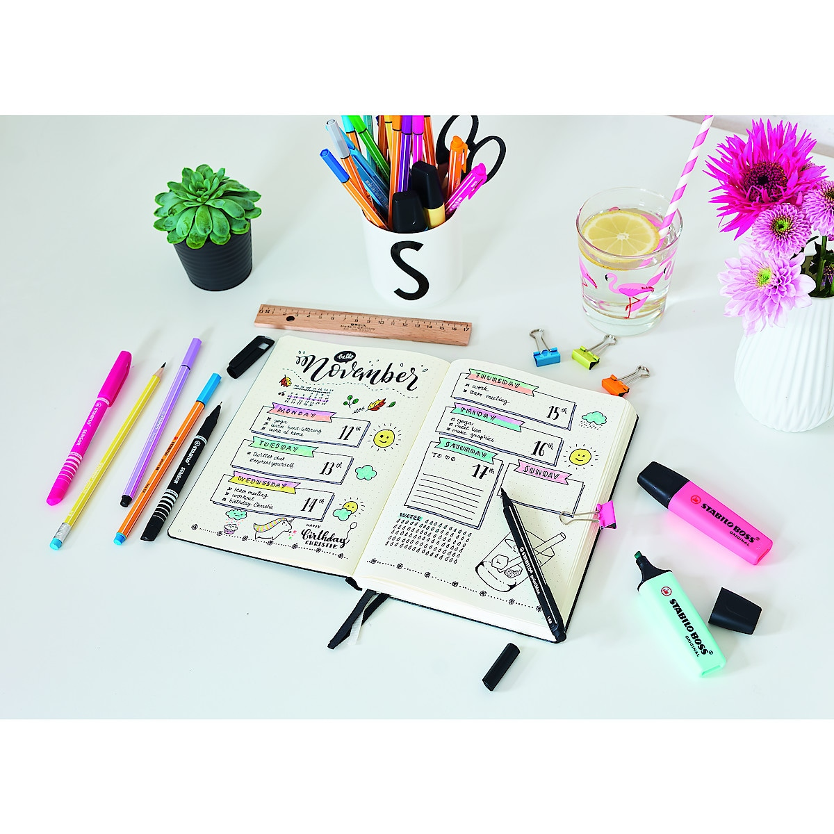 Stifte Stabilo Journal Starter Kit