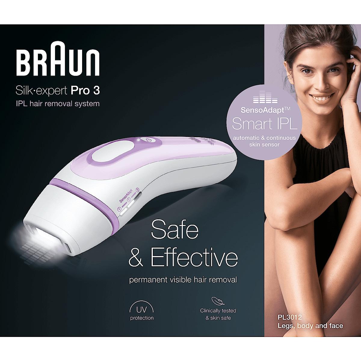 IPL hårborttagare Braun Silk-Expert Pro 3, PL3012