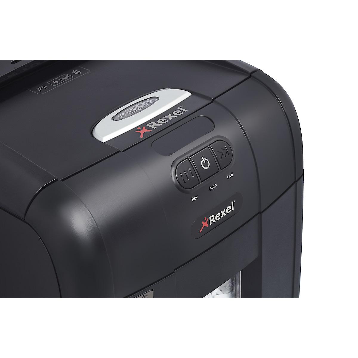 Dokumentförstörare Confetti Auto+ 130X, Rexel