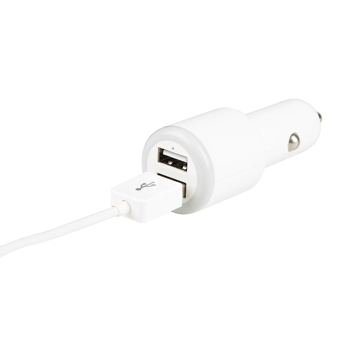 12 V-laddare för iPod/iPhone/iPad, Exibel