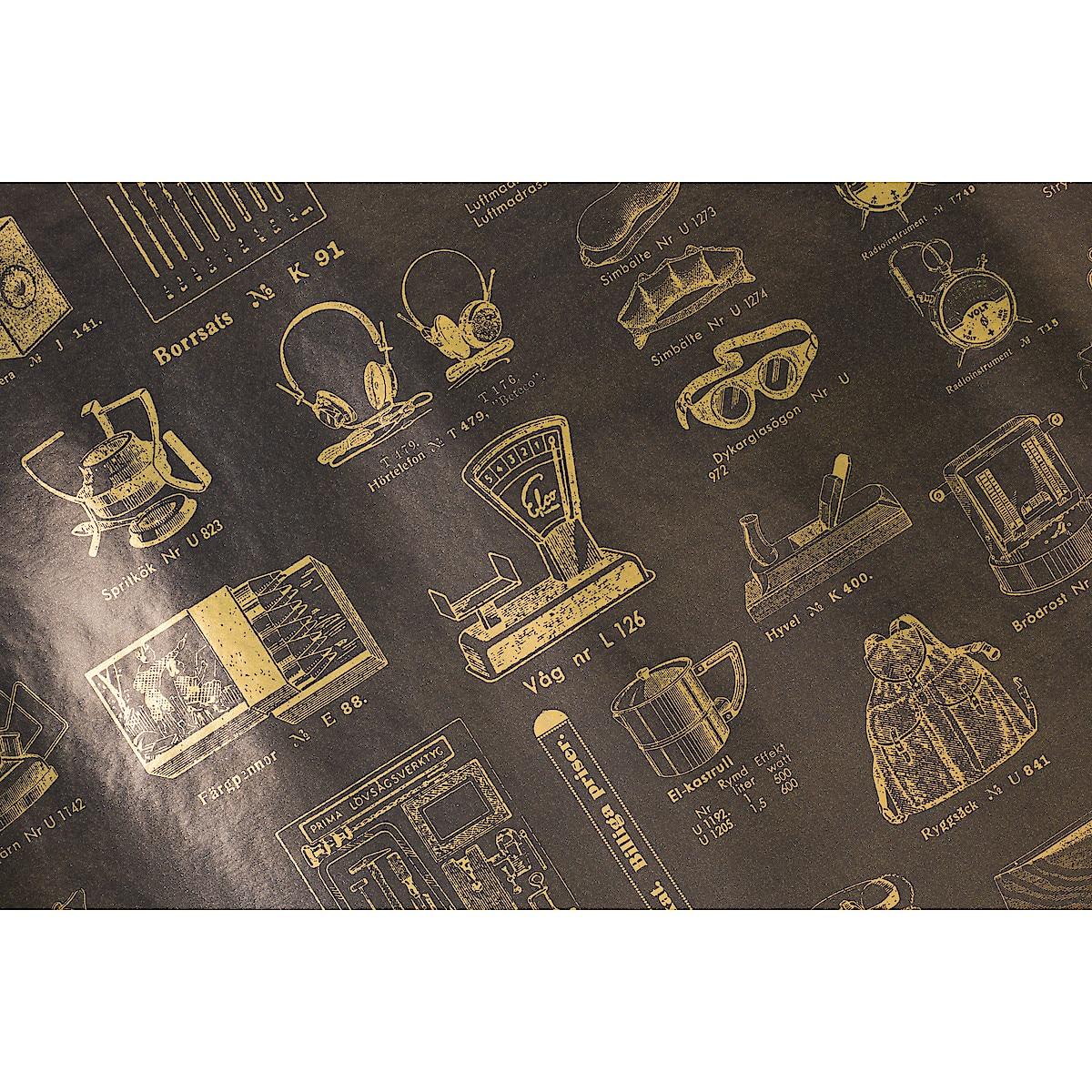 Presentpapper 2 m x 70 cm, 3-pack