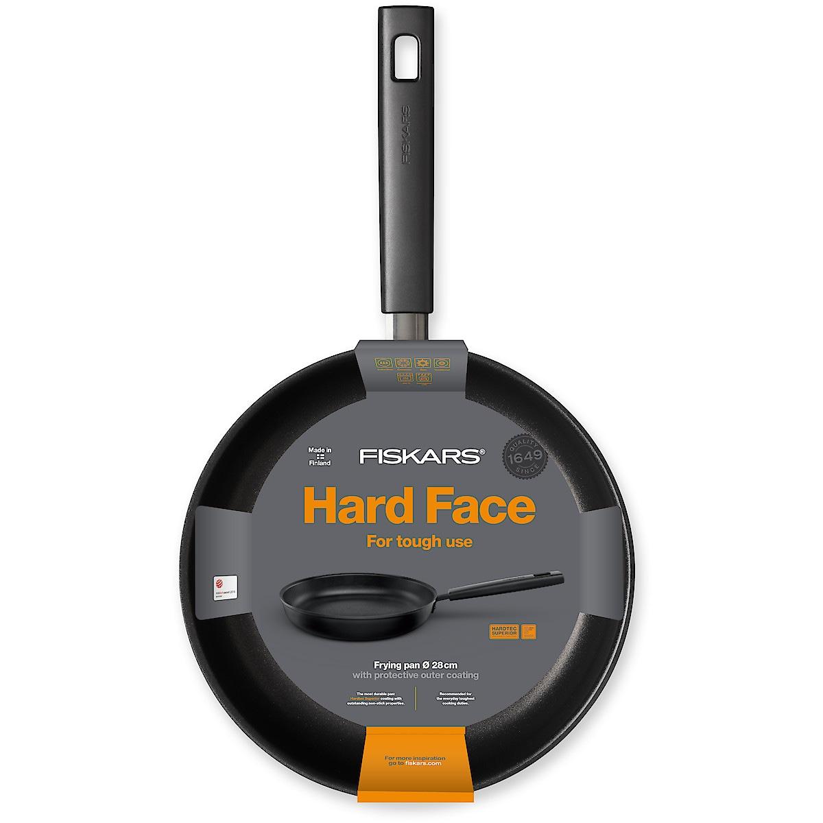 Stekpanna 28 cm, Fiskars Hard Face