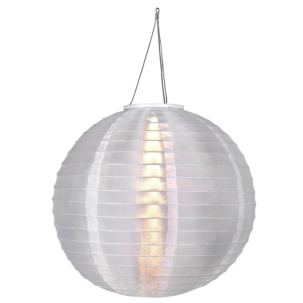 Solcellslampa Ø 20 cm