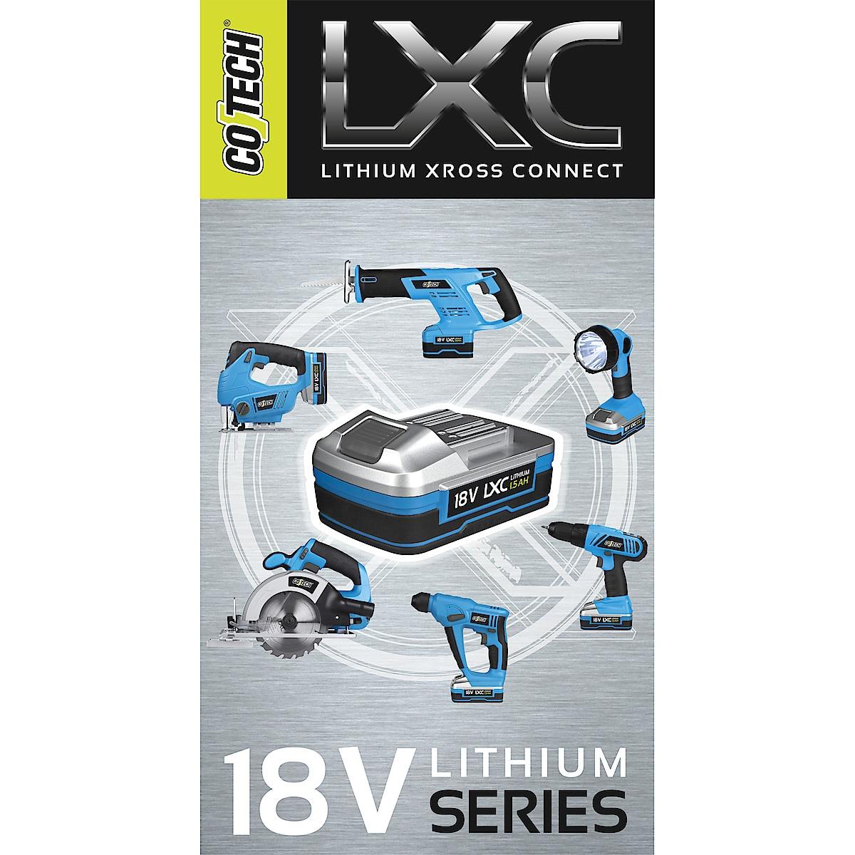 Cotech LXC PP1815 batteri
