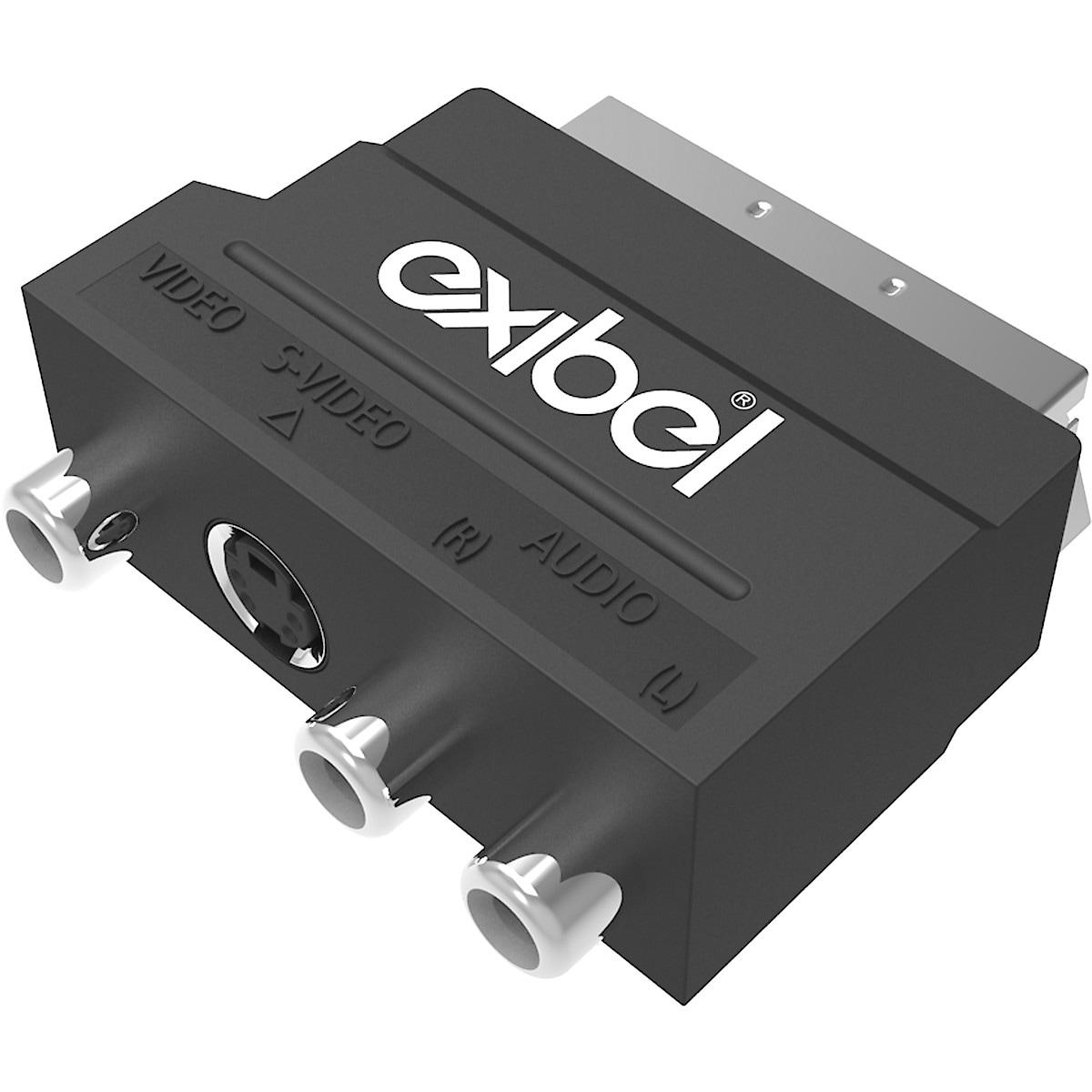SCART-Adapter Exibel