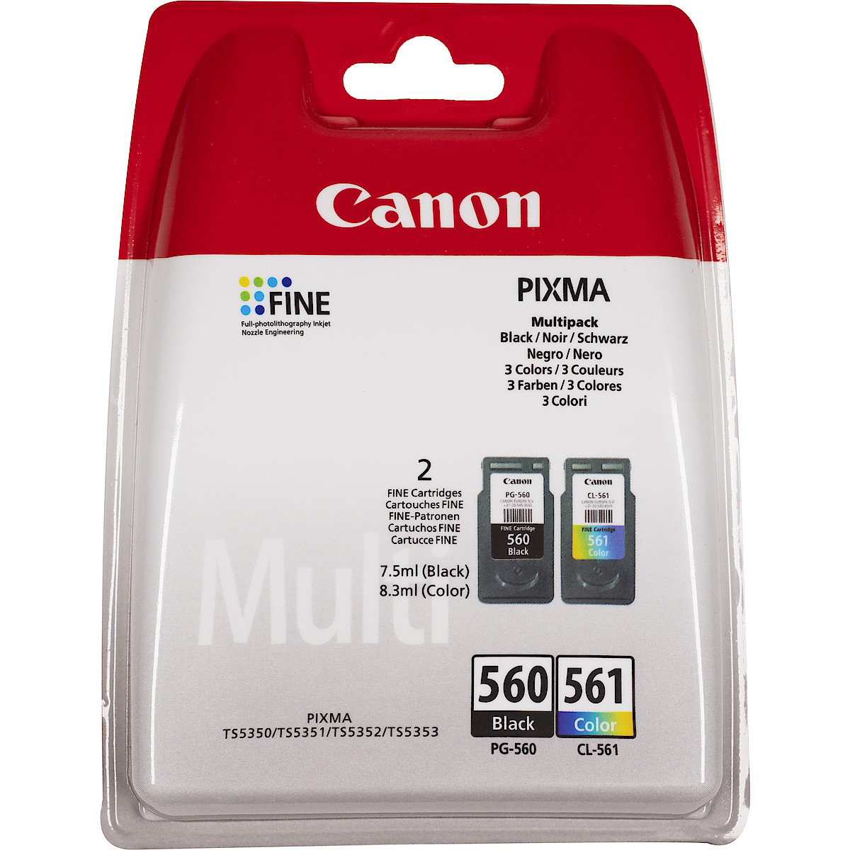 Bläckpatron Canon PG-560 / CL-561