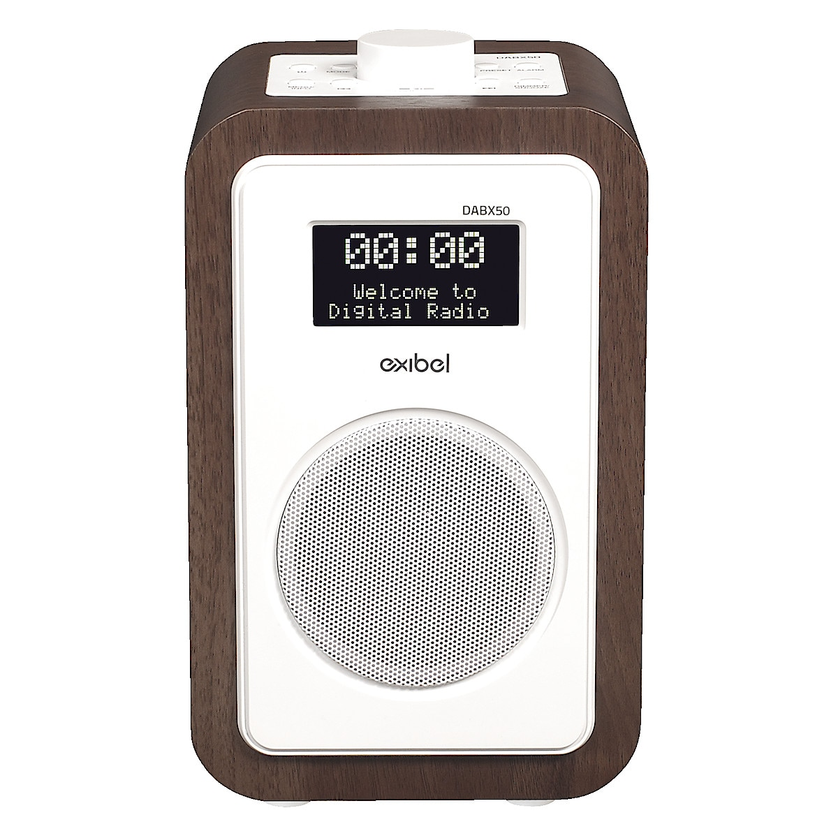 DAB+/FM-radio med Bluetooth Exibel X50
