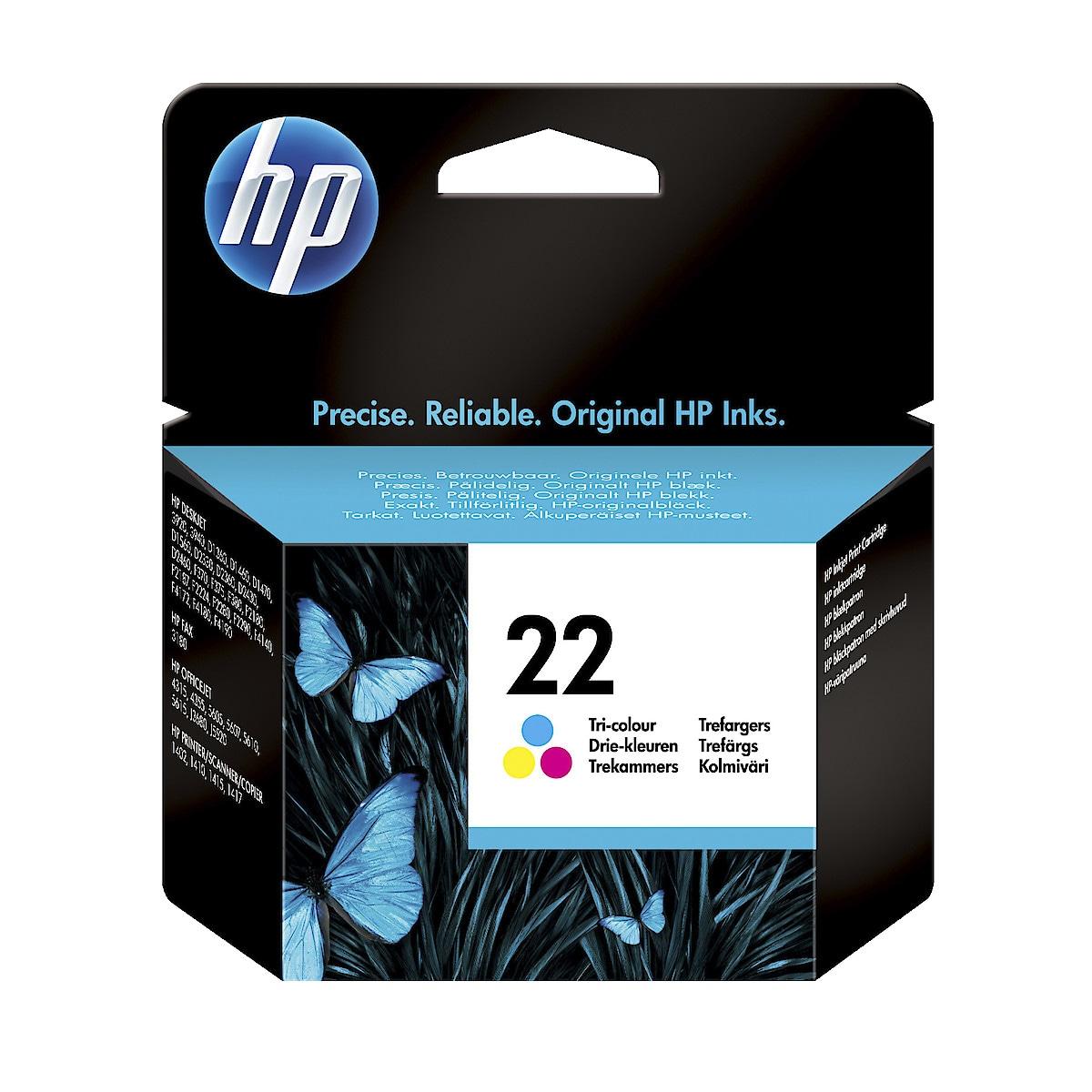 Bläckpatron HP 21 / 22