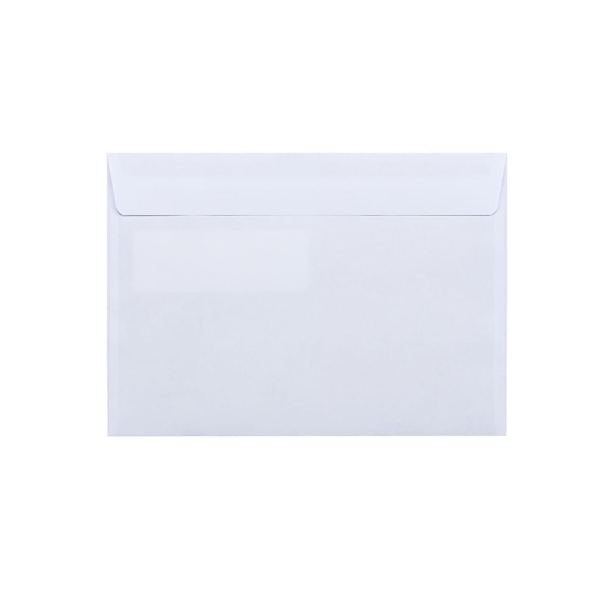 Fönsterkuvert C5 H2, vita, 50-pack