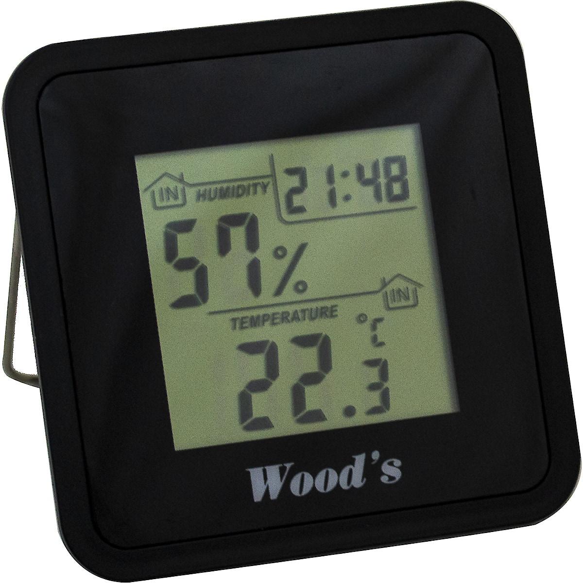 Kosteusmittari/lämpömittari Woods WHG-1