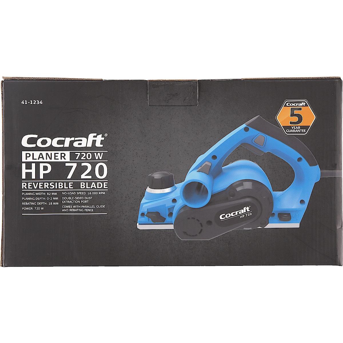 Sähköhöylä Cocraft HP 720