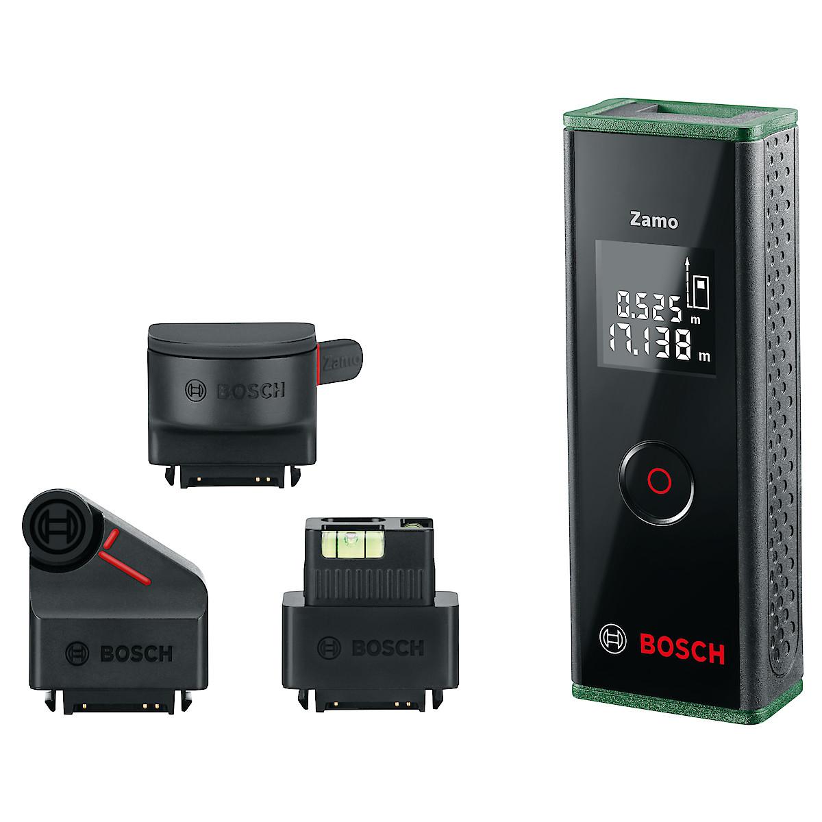Avståndsmätare med tillbehör, Bosch Zamo III Premium