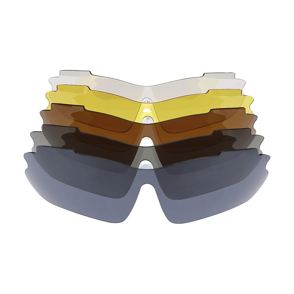 Sportbrille Asaklitt – 5 Brillenglasfarben