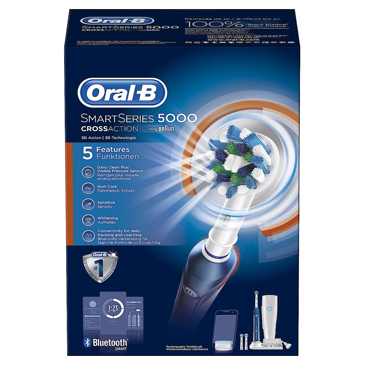 Eltandborste Oral-B Smart 5000